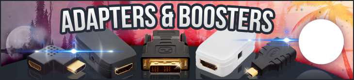 HDMI Adapters & Boosters