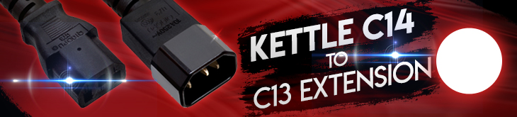 Kettle / C13 Extension Cables