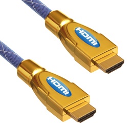 1.5m HDMI Cable, compatible with Panasonic - Ultimate Blue HDMI Cable (UBH1.5)