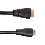 2.5m Mini HDMI to HDMI Cable