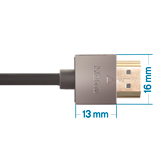 1.5m HDMI 2.0 Cable, compatible with Xbox 360