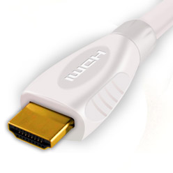1.5m HDMI Cable, compatible with Xbox 360 - Premium White HDMI Cable (WH1.5)