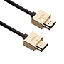 1m 4K HDMI Cable, compatible with Sony - Smallest Head SUPREME GOLD 'In The World' (4SH1GLD)