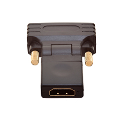 DVI Male to HDMI Female 360° Rotate & Swivel Adapter (AD9)