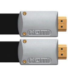 1m HDMI Cable - Ultra Flat Silver (CUS1)