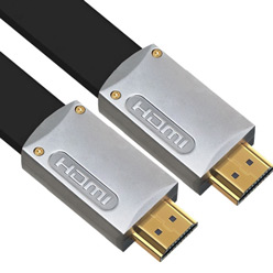 5m HDMI Cable - Ultra Flat Silver