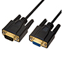 6m DB9 Serial Data Cable - Male to Female Cable (DB9MF6)