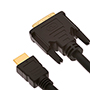 9m HDMI Male to DVI Male Cable (HDVM9)