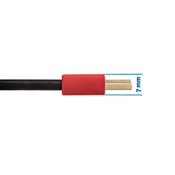 0.5m HDMI Cable - Smallest Head SUPREME RED 'In The World' (SH0.5RED)