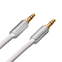 3m Ultimate Chrome 3.5mm to 3.5mm White Audio Cable (UCA3)