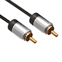 1m Ultimate Platinum 1 RCA to 1 RCA Cable (UP1R1)