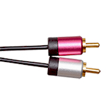 2.5m Ultimate Platinum 2 RCA to 2 RCA Cables
