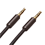 7m Ultimate Piano Black 3.5mm to 3.5mm Black Audio Cable (UPBA7)
